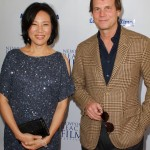 JY with Bill Paxton at Newport Beach Film Festival, May 2012