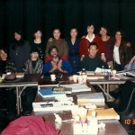Table read for JOY LUCK CLUB with cast, Amy, Ron, Wayne