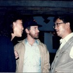 "With Steven Spielberg on my first ""real"" movie, EMPIRE OF THE SUN, 80's. We were meeting with the Spielberg of China, Xie Jin."