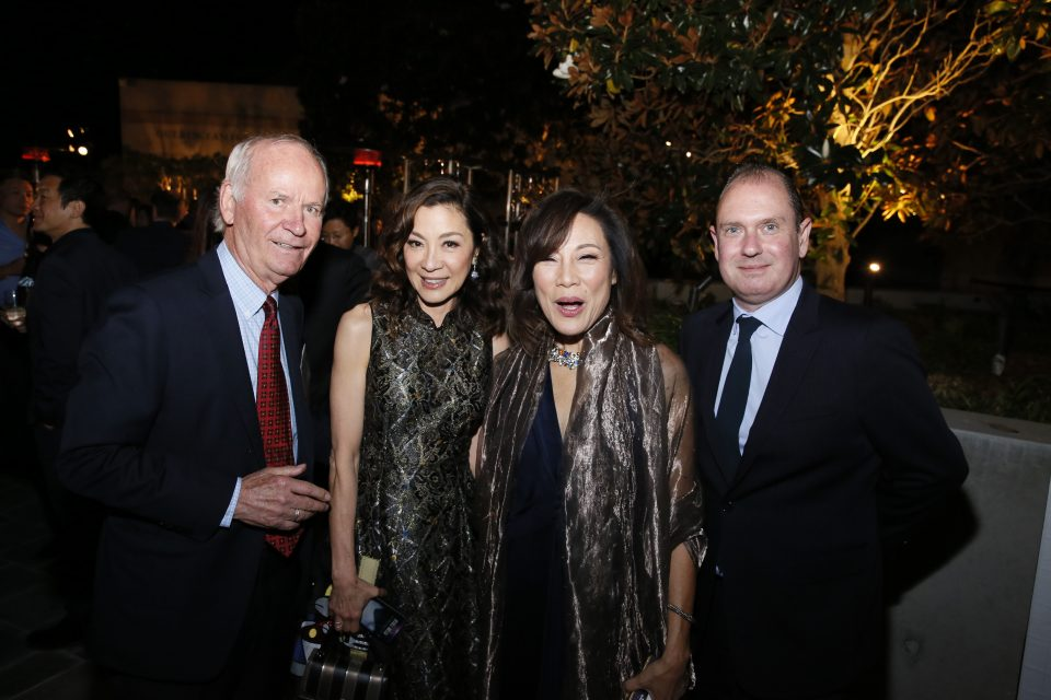 The U.S.-China Entertainment Gala Dinner on Oct. 30, 2018 in Los Angeles, California. (Photo by Ryan Miller/Capture Imaging)